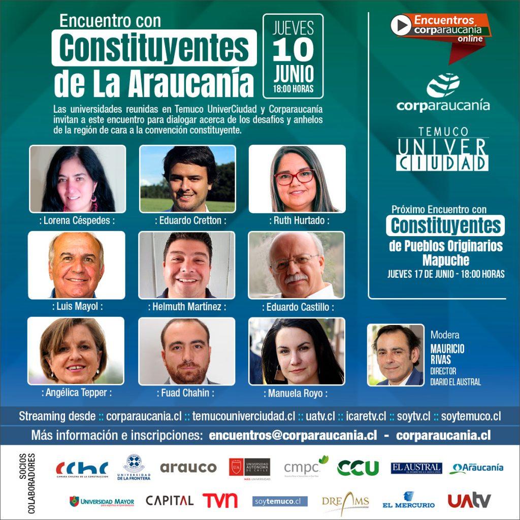 Encuentro Constituyentes de La Araucanía
